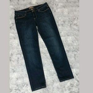 Paige Boyfriend Jeans 25 Dark Wash Oscar Denim